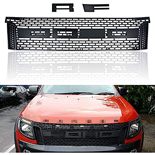Para Ford Ranger T6 2012-2014, Parrilla Radiador Parachoques Delantero Coche, Rejilla...
