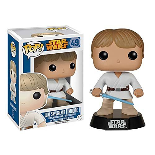 Funko Pop! Star Wars Vaulted Edition: Star Wars Tatooine Luke Skywalker by