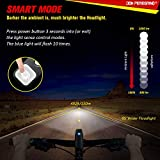 Front Bike Light 1000 Lumens, Bicycle Lights Waterproof & Rechargeable by DONPEREGRINO
