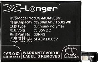 Redmi 3900mAh / 15.02Wh for BN45,fit Model Redmi Note 5,Redmi Redmi Note 5 Standard Edition Global Dual,SIM TD-LTE,MEG7S,Whyred Battery,3.85V,Li-Polymer