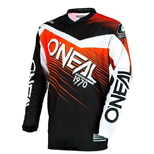 O'NEAL Element Racewear FR Youth Kinder Jersey Trikot lang schwarz/orange 2018 Oneal: Größe: M (116-134)
