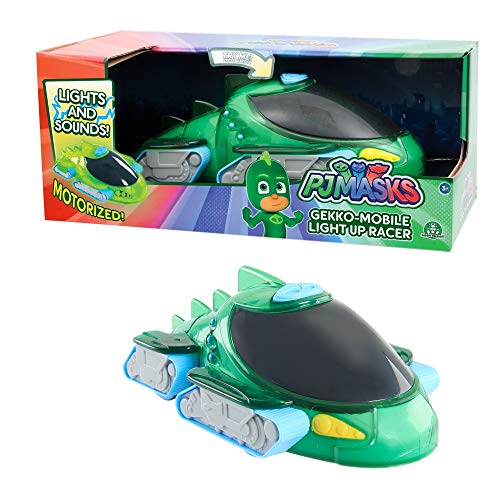 Giochi Preziosi Italy - Pj Masks Veicolo Light Up Racers Gecomobile