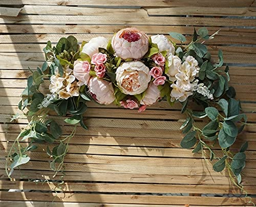 ARGYJAE European Style Simulation Door Be super welcome Flower New Shipping Free Decorative Wreaths