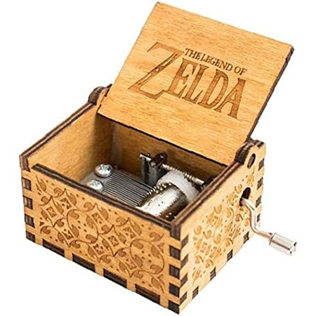 Amazon De Spieluhr Zelda Music Box 18 Note Antique Carved Musical Box Best Gift For Kids Friends
