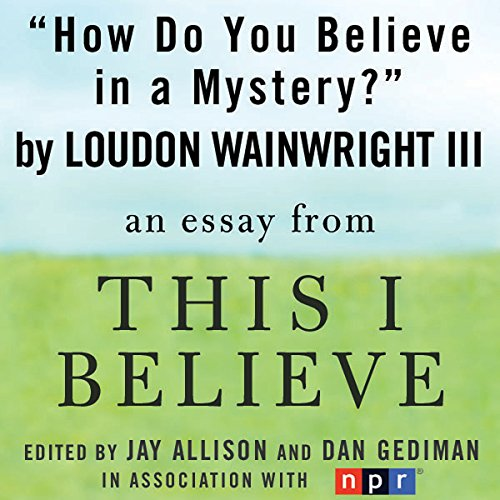 How Do You Believe in a Mystery? audiobook cover art