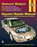 Pontiac Pathfinder Body Parts - FWD models of Buick Regal (88-04), Chevrolet Lumina (1990-1994), Olds Cutlass Supreme (88-97), & Pontiac Grand Prix (88-07) Haynes Repair Manual