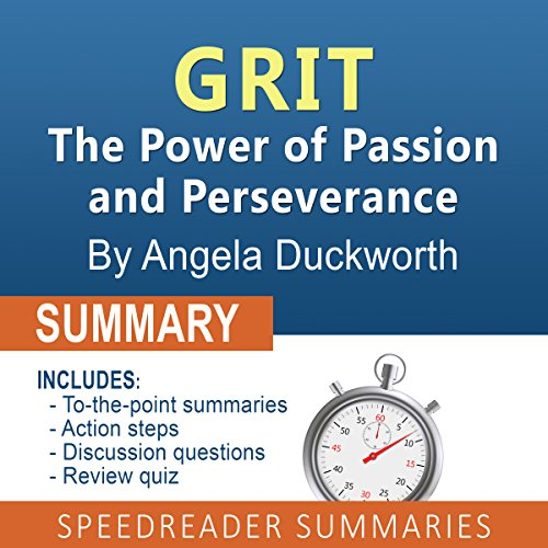 Summary of Grit by Angela Duckworth cover art