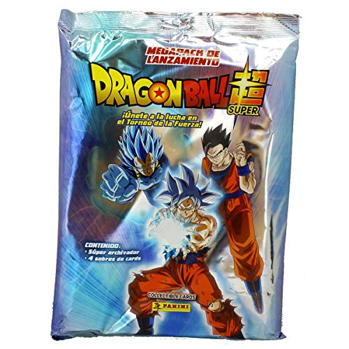 Panini 003756SPE2 Megapack Archivador Dragon Ball Super, 4 Sobres