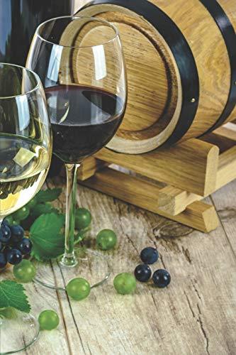 Mein eigener Wein: Dein persönliches Buch für die Weinherstellung zum selber ausfüllen ♦ für über 100 verschiedene Weine ♦ Im handlichen 6x9 Format ... für alle Hobbywinzer ♦ Motiv: Weinfass