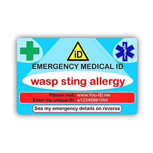 Wespenfalle, antiallergen, Notfall-/Ausweis-, Geschenk-, die Kleidung für medizinische Notfälle, 90,-Smartphone mit insgesamt