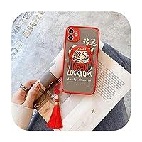 新しい携帯電話ケースクリエイティブタッセルfor iphone 12 11 xs中国風-10-iphone 12mini