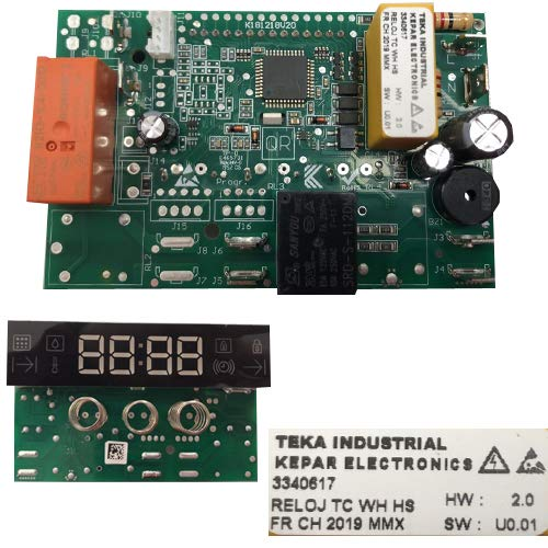 Desconocido Módulo Electrónico Kepar 3340617 HW: 2.0 SW: UO.01, Horno TEKA HSC-635