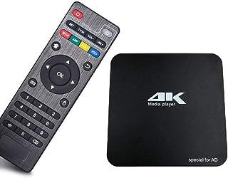 TKS デジタルサイネージ 4K リピート再生 PPT PDF再生 字幕プレーヤー 画面回転対応 HDMI、AV自動認識 SDカード・USBメモリ対応 Android6.0搭載 電子看板 広告宣伝に メディアプレーヤー
