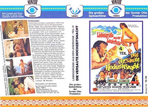 Liebesgrüße aus der Lederhose - 4. Teil - VHS-Einleger A4 - ohne Cassette/Hülle