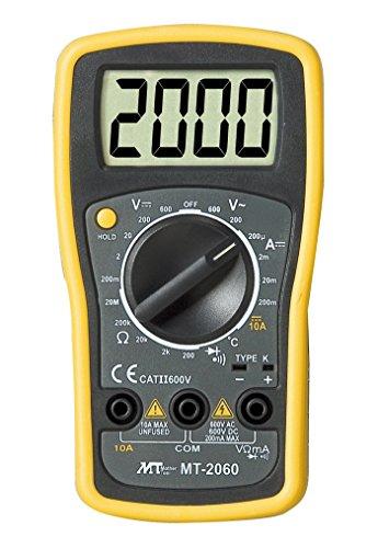 マザーツール デジタルマルチメータ MT-2060