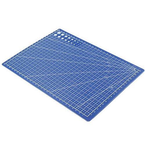 bodhi2000A4alfombrilla guía para cortar antideslizante con líneas de cuadrícula escala placa Junta, 30cm x 22cm