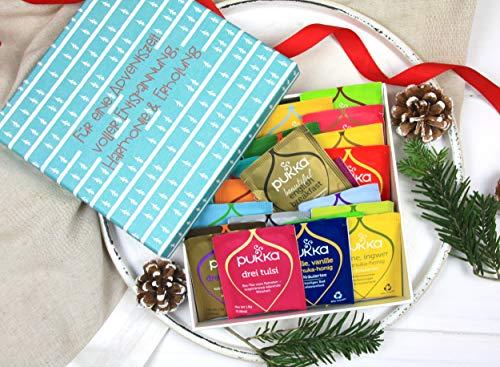 Ein schönes Geschenk mit Pukka Tee zur 'ADVENTSZEIT'