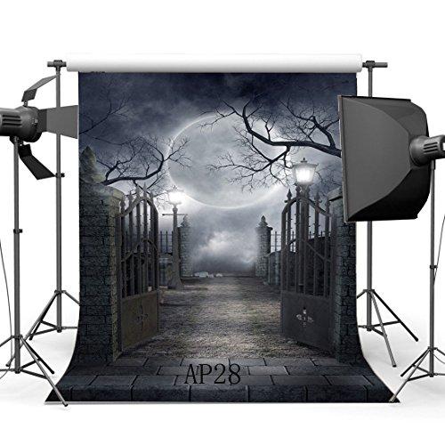 SUNNY Star 5x 7ft/150x 210cm Retro Halloween tema fondo de estudio fotográfico fondos personalizados Studio Props vinilo Thin para Studio/partido/decoración AP28