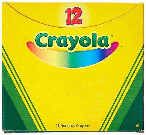 Crayola Blue Crayons, Box of 12 Crayons