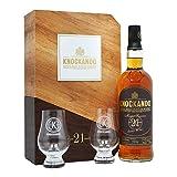 Knockando Master Reserve 21 Años - Single Malt Scotch Whisky - 1994 - Estuche Regalo con 2 vasos - 700ml