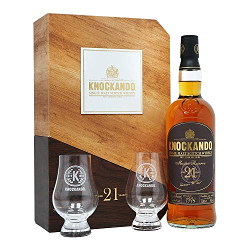 Knockando 21 Years Old Master Reserve Whisky (1 x 0.7 L)