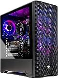 SkyTech Blaze 3.0 Gaming PC Desktop - AMD Ryzen 5 3600 3.6GHz, 1660 Super 6GB, 16GB DDR4 3000, 1TB SSd, 600W Gold PSU, Windows 10 Home 64-bit, AC WiFi, Black