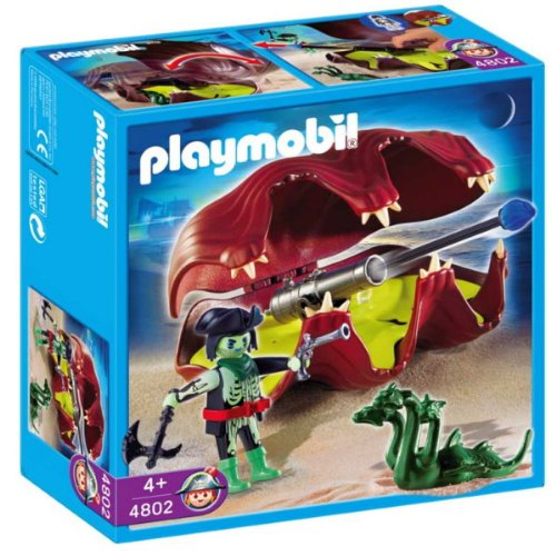 Playmobil - 4802 Shell with Cannon
