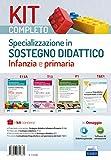 Kit completo Specializzazione sostegno didattico Infanzia e...
