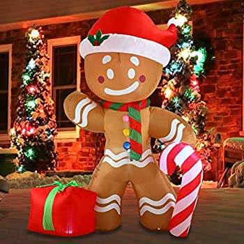 blow up gingerbread house