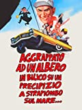 Aggrappato ad un Albero in Bilico su un Precipizio a Strapiombo sul Mare...