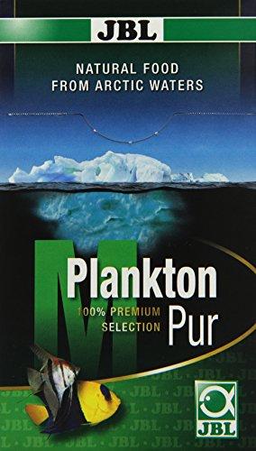 JBL PlanktonPur 30037 Leckerbissen für große Aquarienfische, 8 Sticks, 5 g