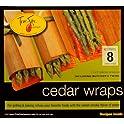 8-Pack TrueFire Gourmet Cedar Wrap