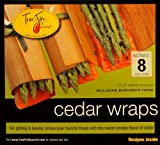 TrueFire Gourmet TFWraps8-8 Cedar Wraps, 7.25 x 8 Inch, 8 Count (Pack of 1)