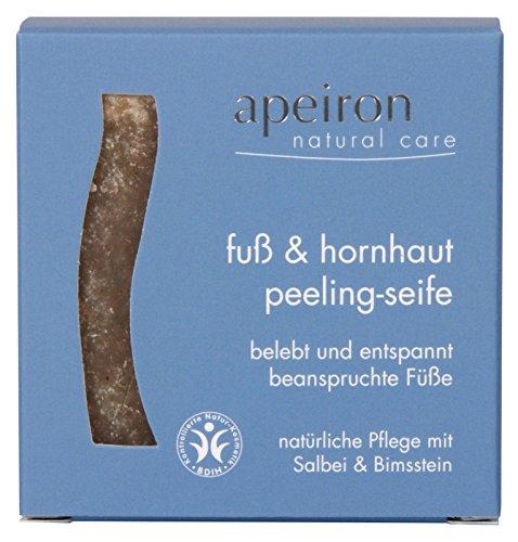 Apeiron Fuß & Hornhaut Peeling Seife