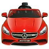 Mercedes Benz AMG S63 - Coche eléctrico para niños (6 V), color rojo