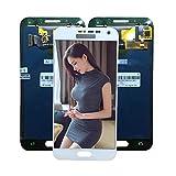 un known Reemplazo Compatible Mobile Display LCD del teléfono for Samsung Galaxy E5 E500 E5000 LCD de Pantalla táctil LCD e5 (Color : White, Size : 5.0')