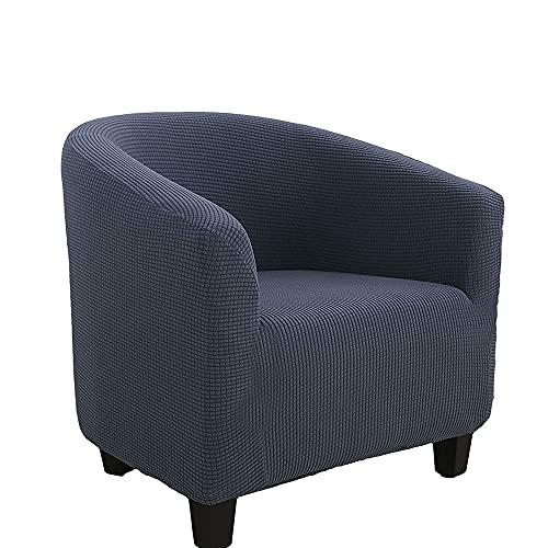 Funda Sillon Cubierta del sofá del sillón elástico cubierta del sofá del estiramiento para los sofás Protector a prueba de polvo Muebles de los muebles de la perspectiva de la silla de la silla de la