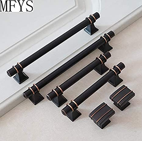 Vintage Hardware 1pc X 3 75 6 3 12 5 Black Copper Drawer Pulls Handle Knob Kitchen Cabinet Handles Furniture Door Handles Dresser Pull Knobs Style Size Knob Amazon Com