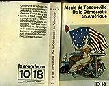 De La Democratie En Amerique - Union Generale D'Editions