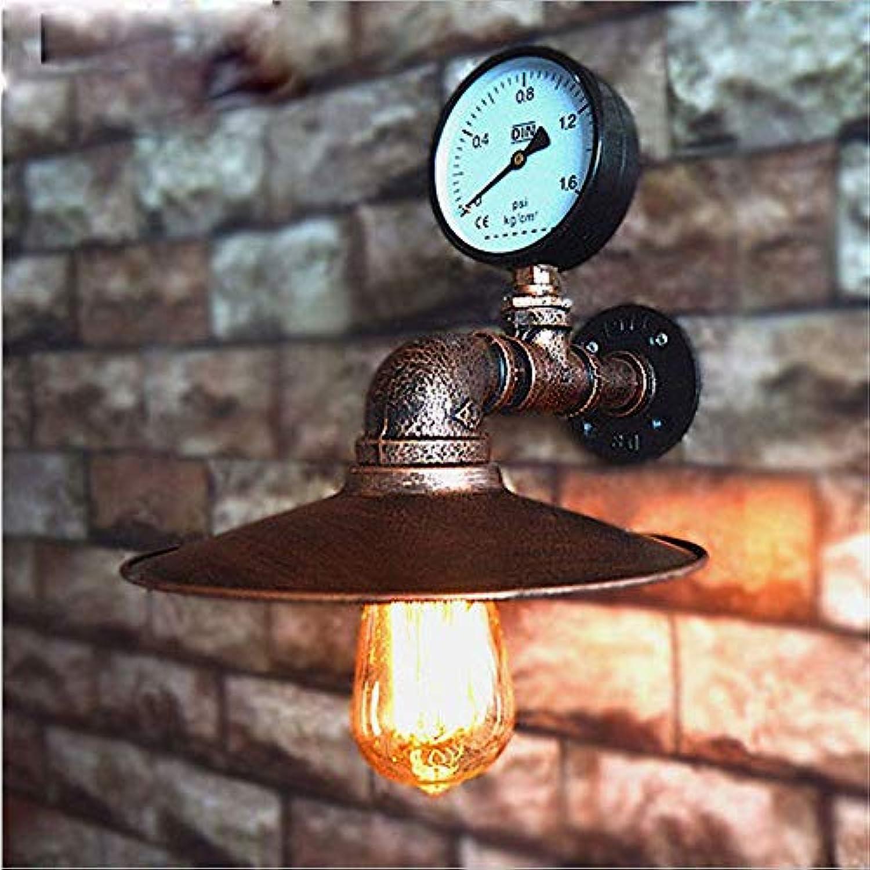 Loftlampen imitiert Wasserpfeife E27 Wandleuchte Lampe Schlafzimmer Restaurant Pub Café Bar Korridor Gang Licht Retro Wandleuchte BH