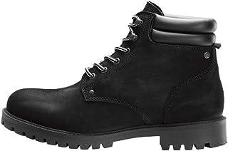 comprar comparacion Jack & Jones Jfwstoke Nubuck Boot Mono Black Noos, Botas Clasicas para Hombre