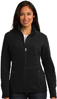 Port Authority Ladies R-Tek Pro Fleece Full-Zip Jacket, XXL, Black/Black
