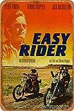 Cimily Easy Rider Zinn Zeichen Metall Poster Retro Garage