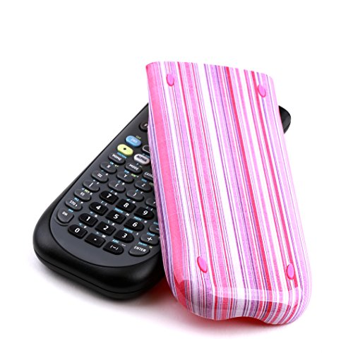 Guerrilla Hard Slide Case-Cover for TI-84 Plus, TI 84-Plus C Silver Edition, TI-89 Titanium Graphing Calculator, Pink Stripe Photo #8