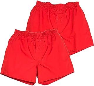 赤パンツの元祖 巣鴨のマルジ 中国製健康赤肌着トランクス二枚組(M/L)