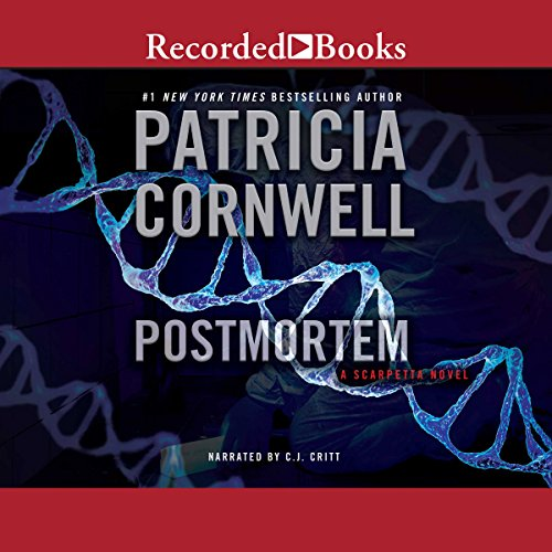 Postmortem     A Scarpetta Novel              By:                                                                                                                                 Patricia Cornwell                               Narrated by:                                                                                                                                 C. J. Critt                      Length: 11 hrs and 25 mins     2,717 ratings     Overall 4.2