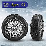 Best Snow Chains - Kacsoo Universal Tire Chains 6Pcs Anti-Skid Snow Chains Review