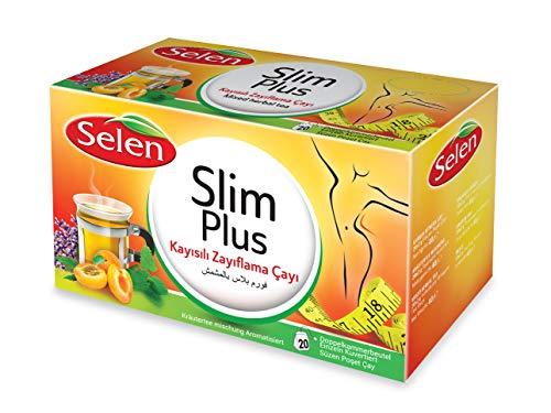 Selen Slim Plus Aprikose Kräutertee 20 Teebeutel