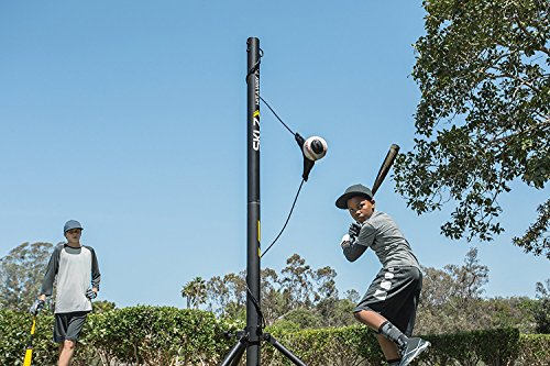 SKLZ Hit-A-Way Portable Baseball Training-Station Swing Trainer with Stand