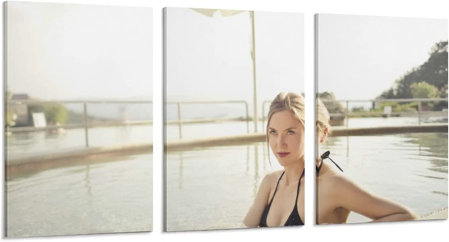 Sexy Beach Beauties Recommended Swimming in Max 81% OFF The Art Poster Pain Water Modern